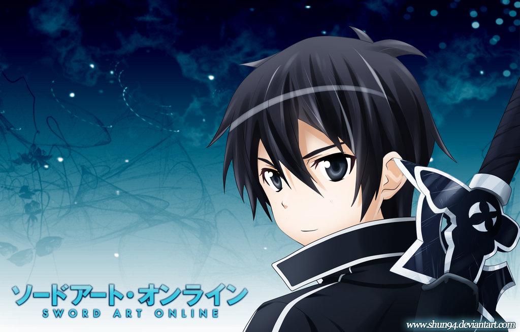 SAO   Kirito by Shun94 1024x655