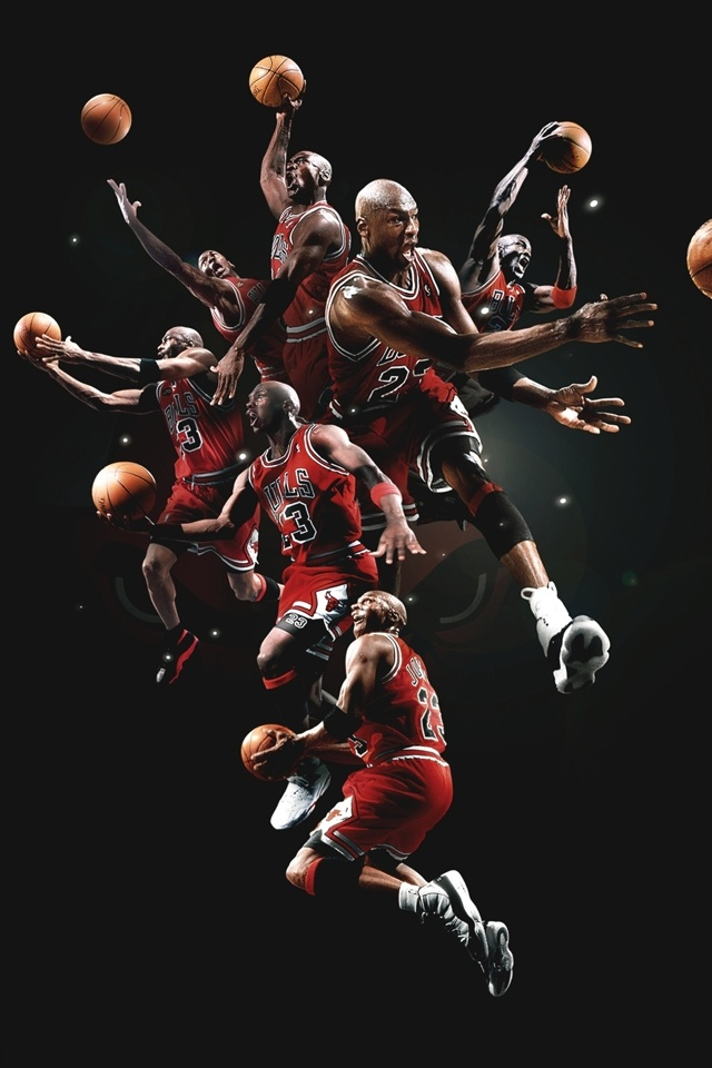 The Basketball Legend iPhone 4 Wallpaper and iPhone 4S Wallpaper 640x960