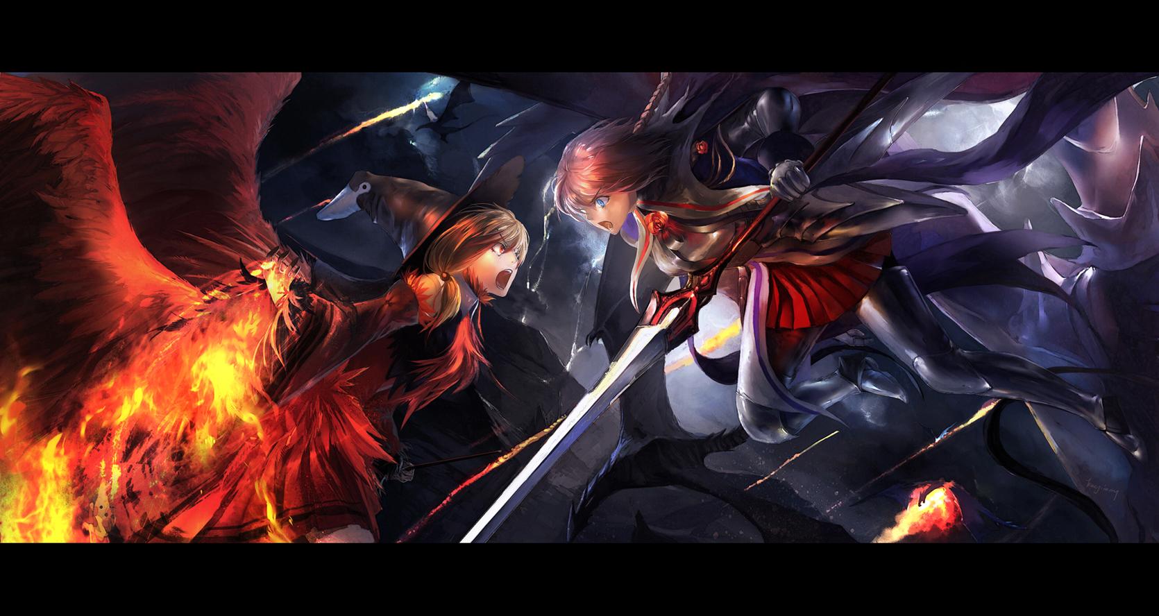 Epic anime wallpaper wallpapersafari - Wallpaper anime hd untuk pc ...