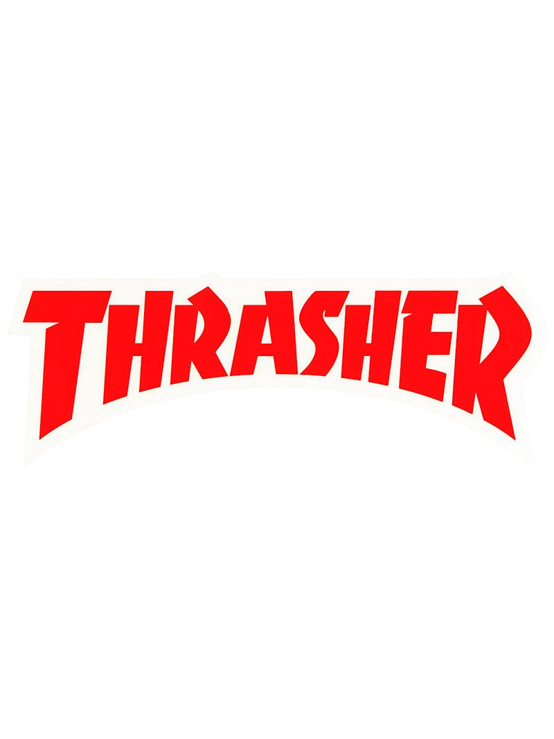 Thrasher Magazine Logo Thrasher logo die cut sticker 800x1067