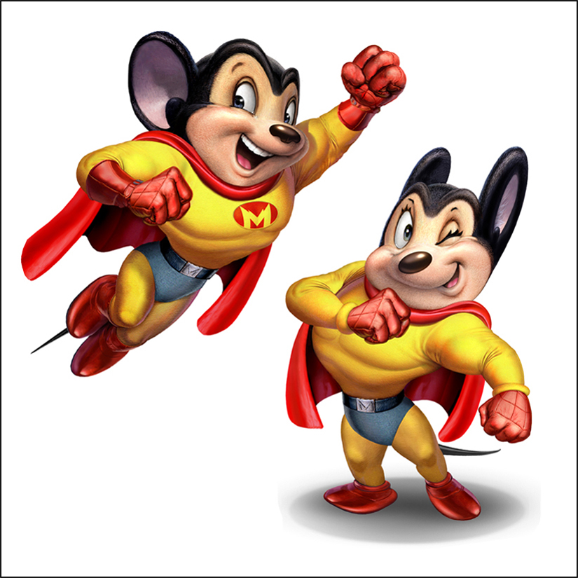 Free Download Mighty Mouse Cartoon Pictures Widescreen Hd