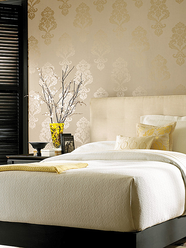 Damask Wallpaperpng1 Contemporary Wallpapers For The Whole Apartment 600x798