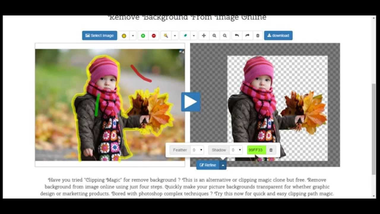 Remove Background From Image Online Clipping Magic Clone 1280x720