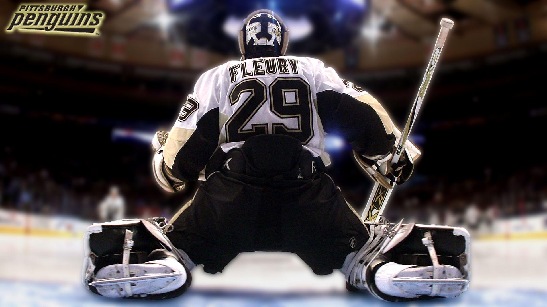 Marc Andre Fleury Athletes Pittsburgh penguins hockey 1920x1080