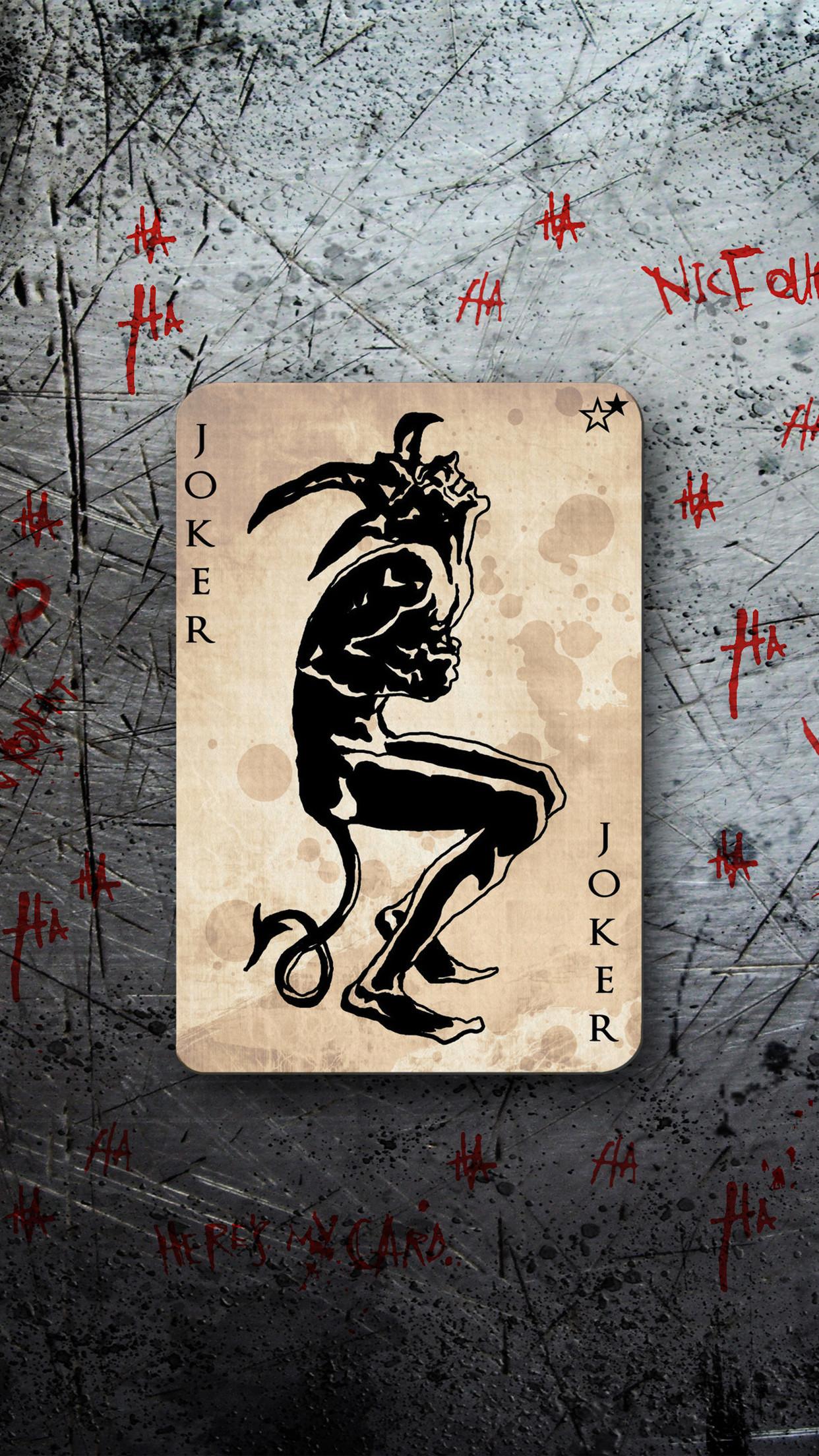 Joker Cards Wallpapers Wallpapersafari