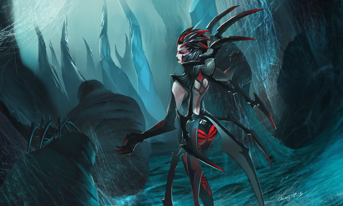 Elise the spider queen by WandererLink 1153x692
