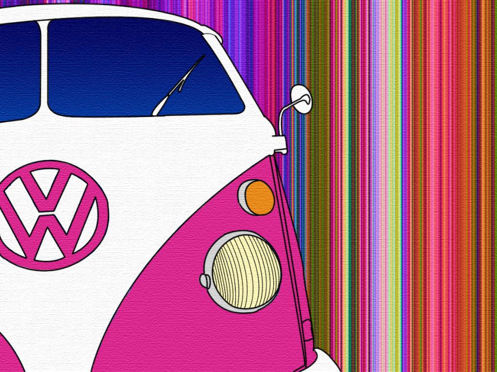 vw camper vans wallpapers 1024x768
