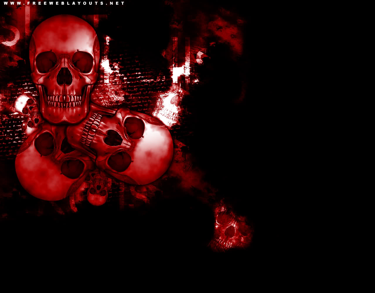 Images of Wallpaper Tags Red Skull - #SC