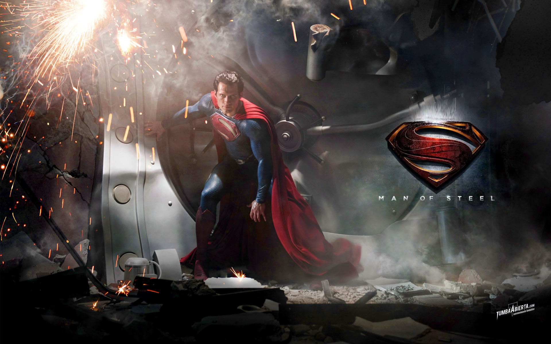 wallpaper HD Superman Man of Steel High Res Alta resolucin 1920x1200