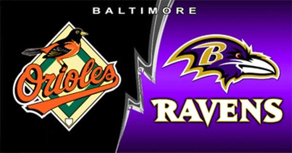 Go Orioles Go Ravens maryland my maryland Pinterest 593x312