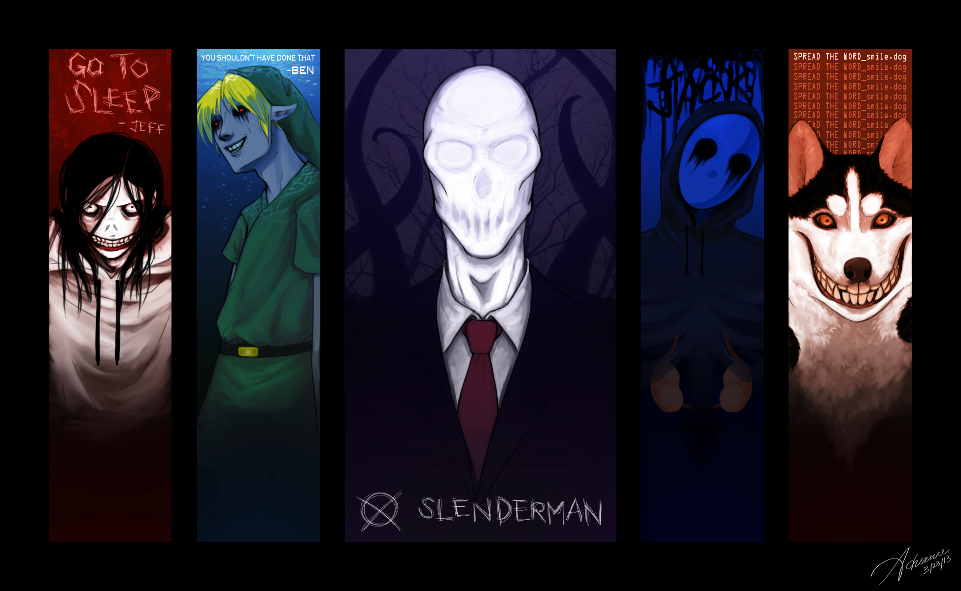 1 Eyeless Jack HD Wallpapers Background Images 1950x1200
