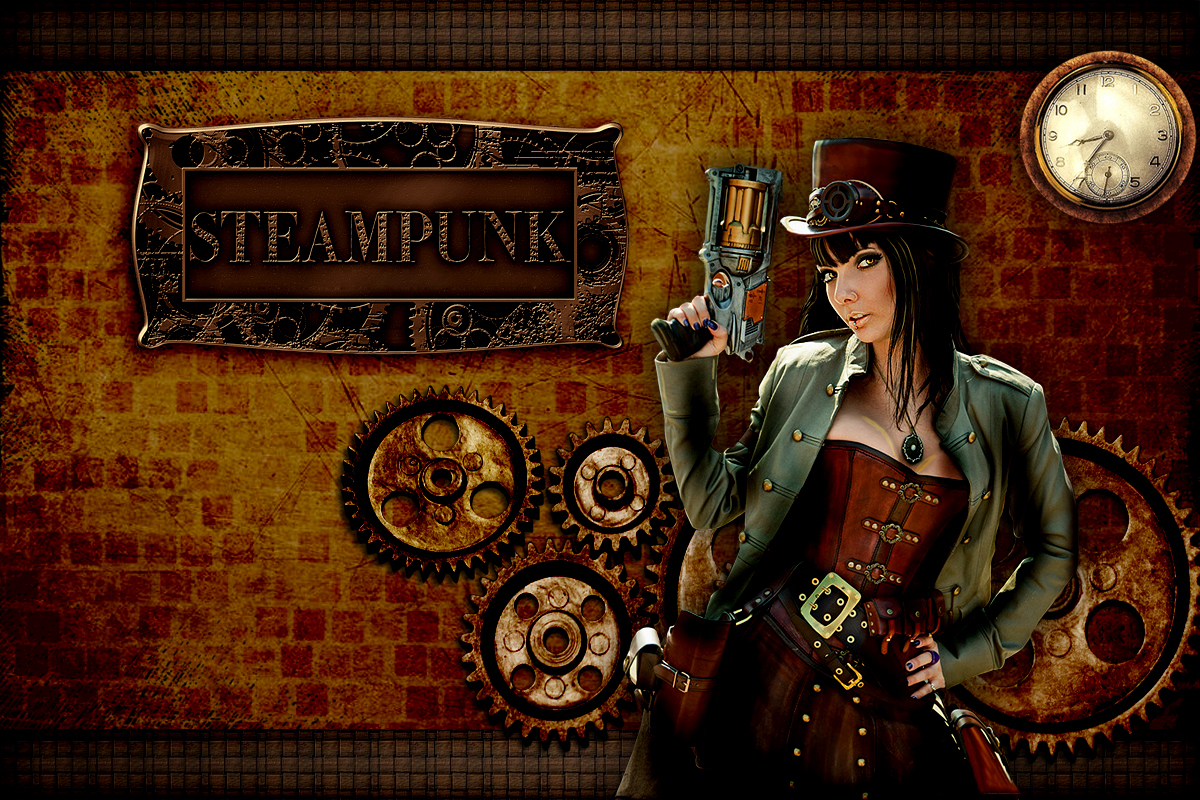 Steampunk Wallpaper Hd Wallpapersafari