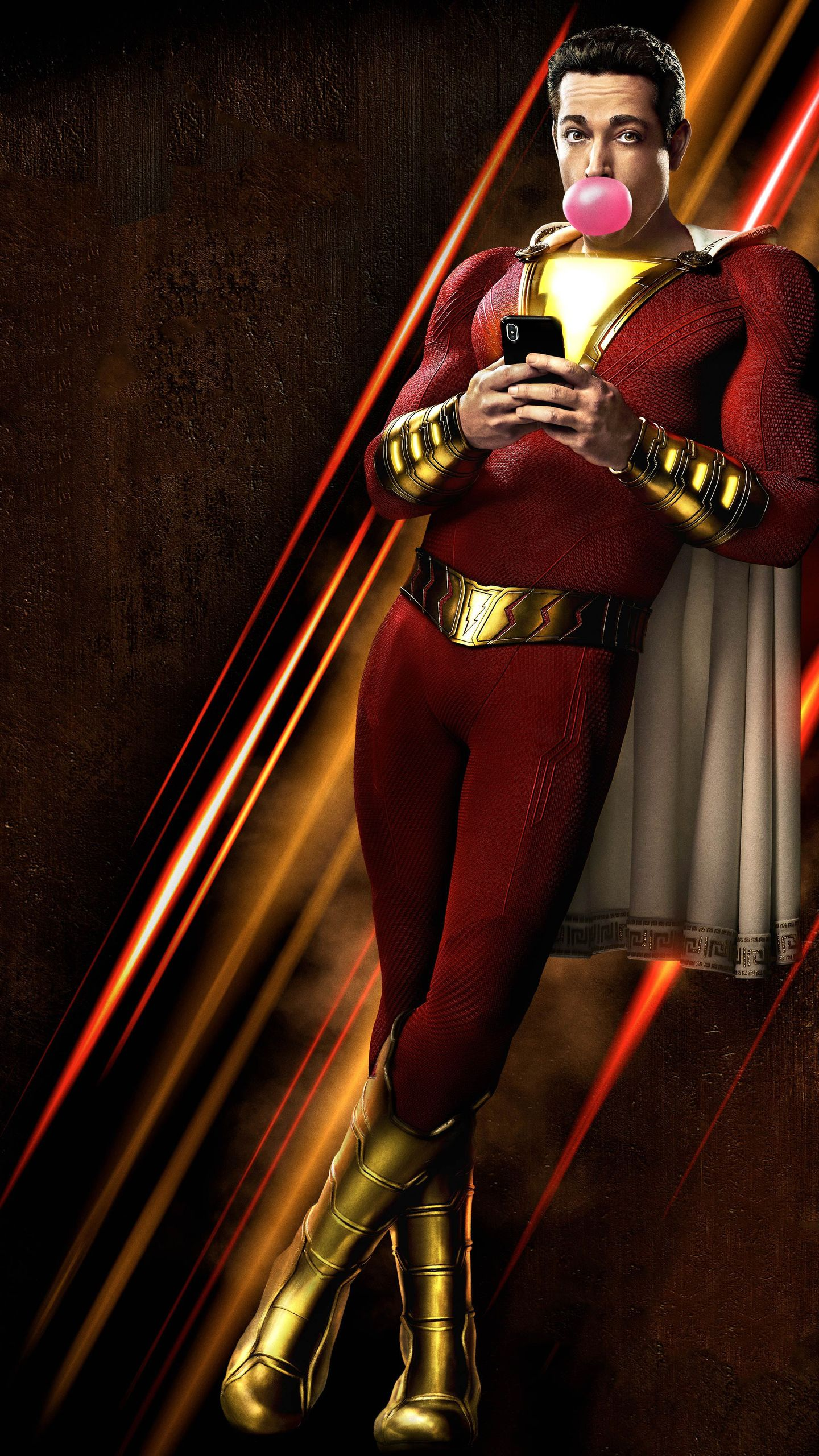 Shazam Wallpaper 30 Background Pictures 1440x2560