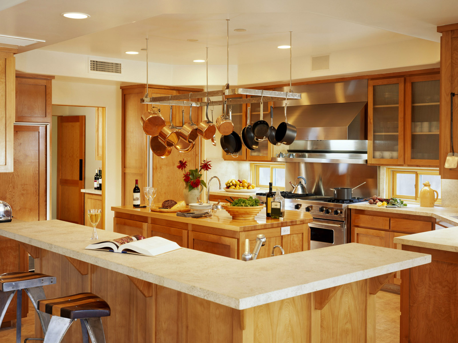 Free Beautiful Kitchen Conditions Wallpapers And