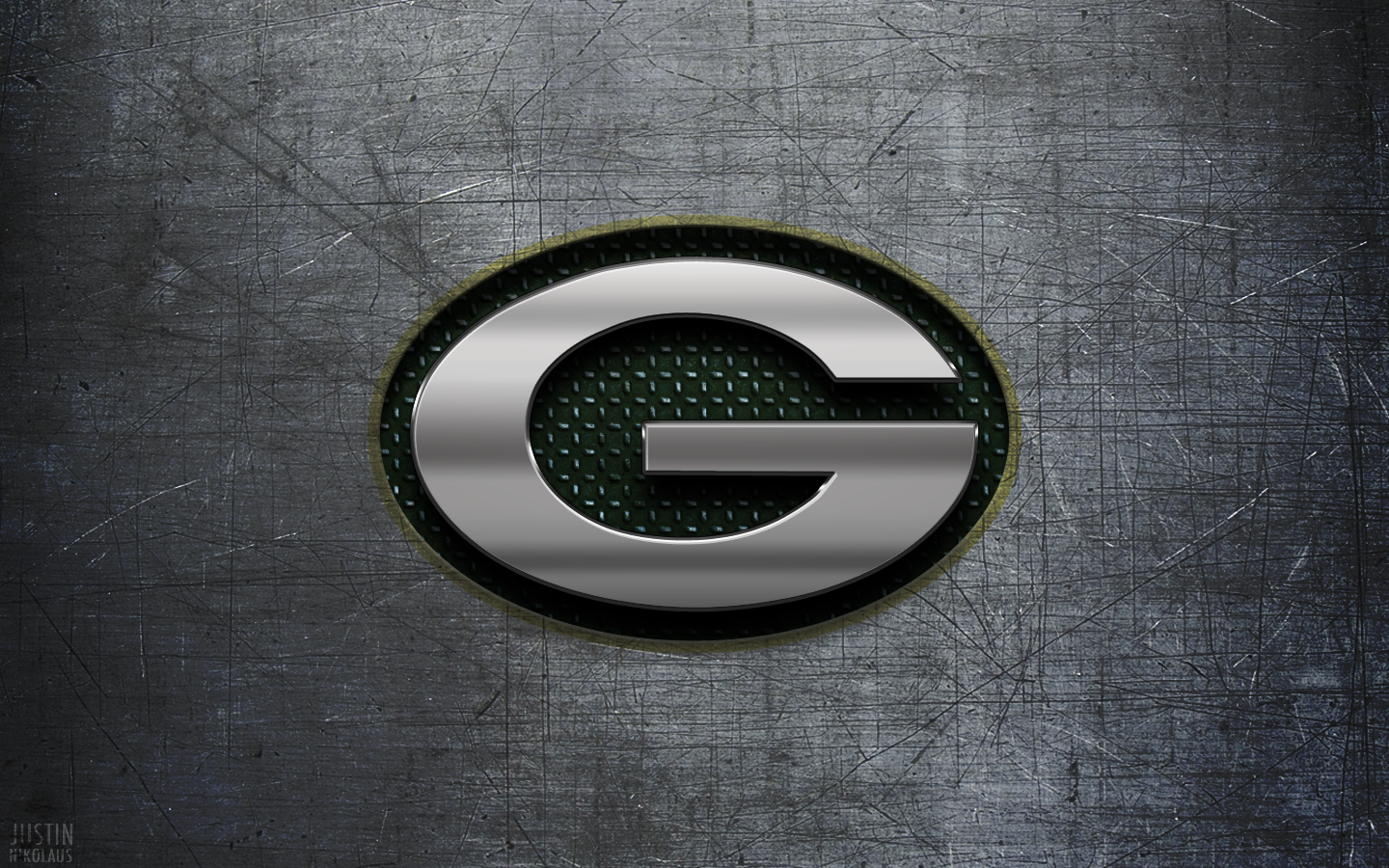 Green Bay Packers Wallpaper Metal Wall 365 Days of Design 1440x900