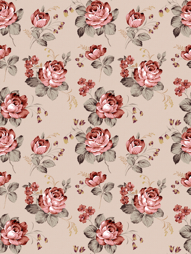 Vintage Rose Wallpaper Via Tumblr We Heart It 375x500