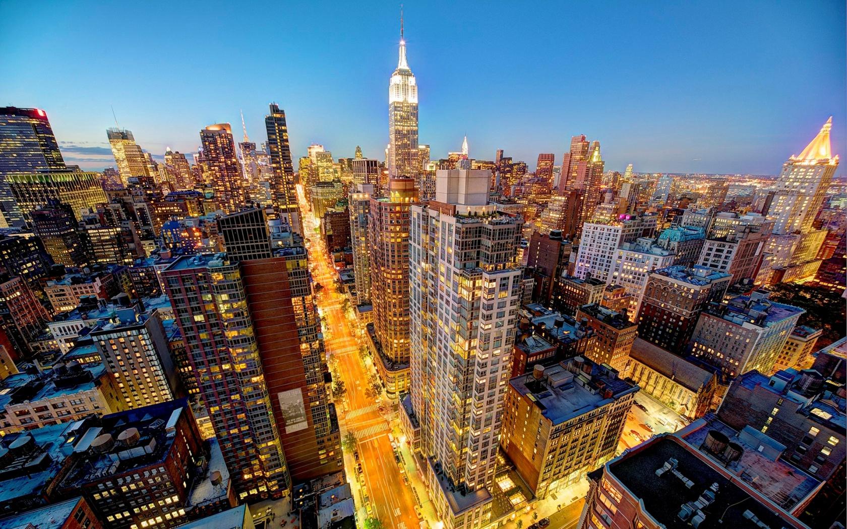 New York City Manhattan latest Wallpaper HD Wallpaper 1680x1050
