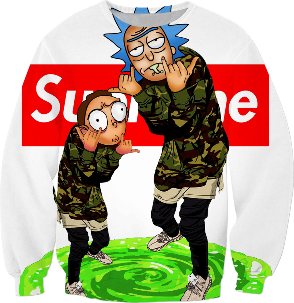 Rick and Morty Supreme 1024x1058