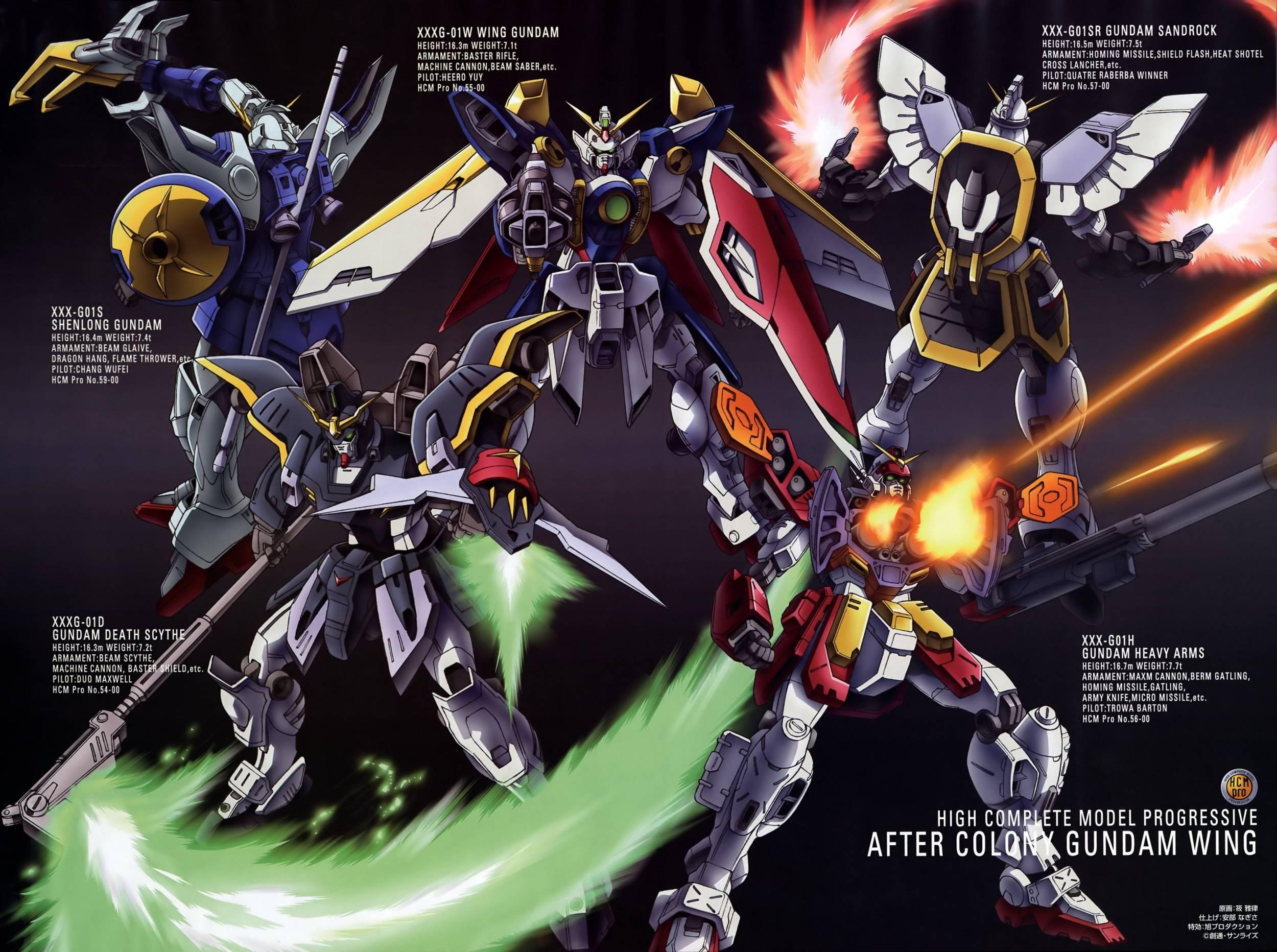Gundam Wing 25001864 Wallpaper 916560 2500x1864