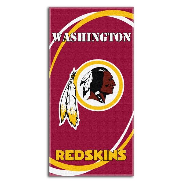 Washington Redskins NFL 30 x 60 Terry Beach Towel 600x600