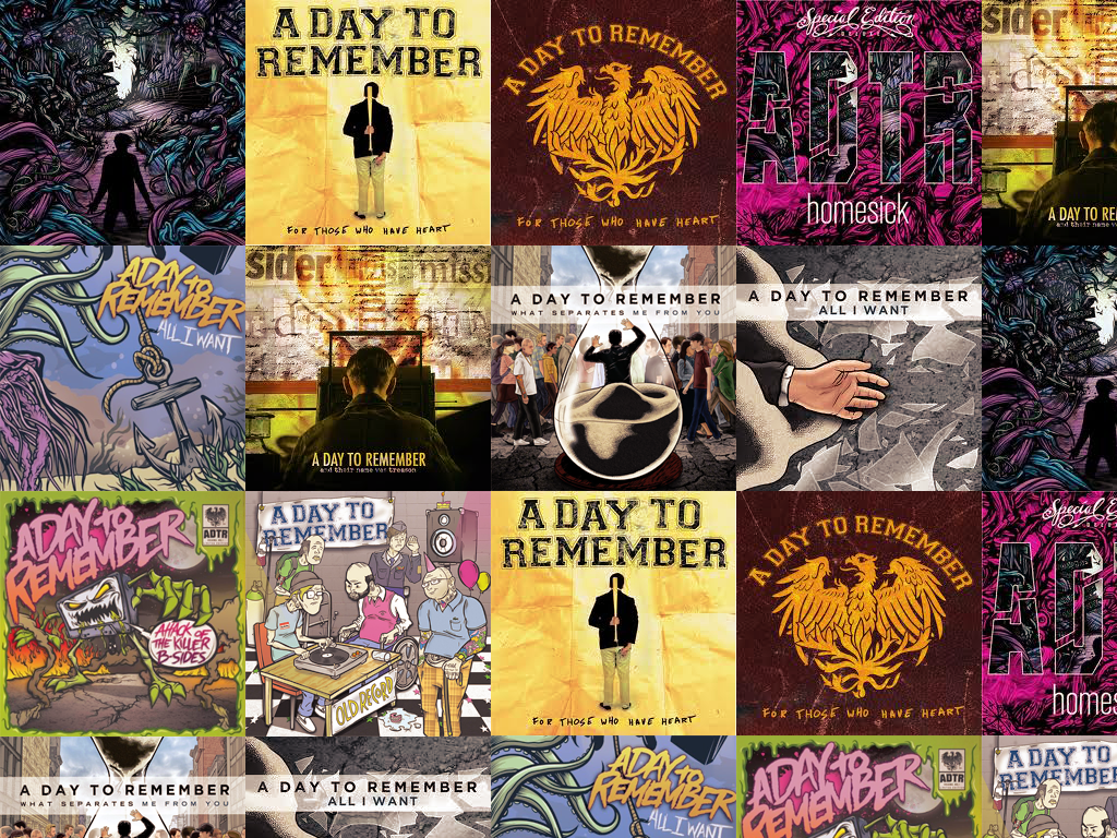 A Day to Remember Wallpaper by NobodyofMe 1024x768