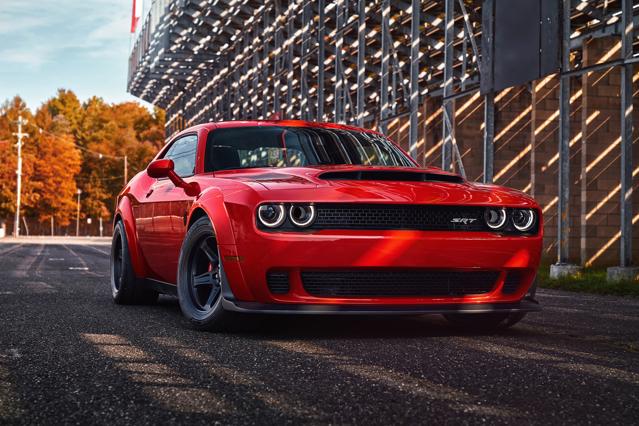 52 Dodge Challenger SRT HD Wallpapers Background Images 2037x1360