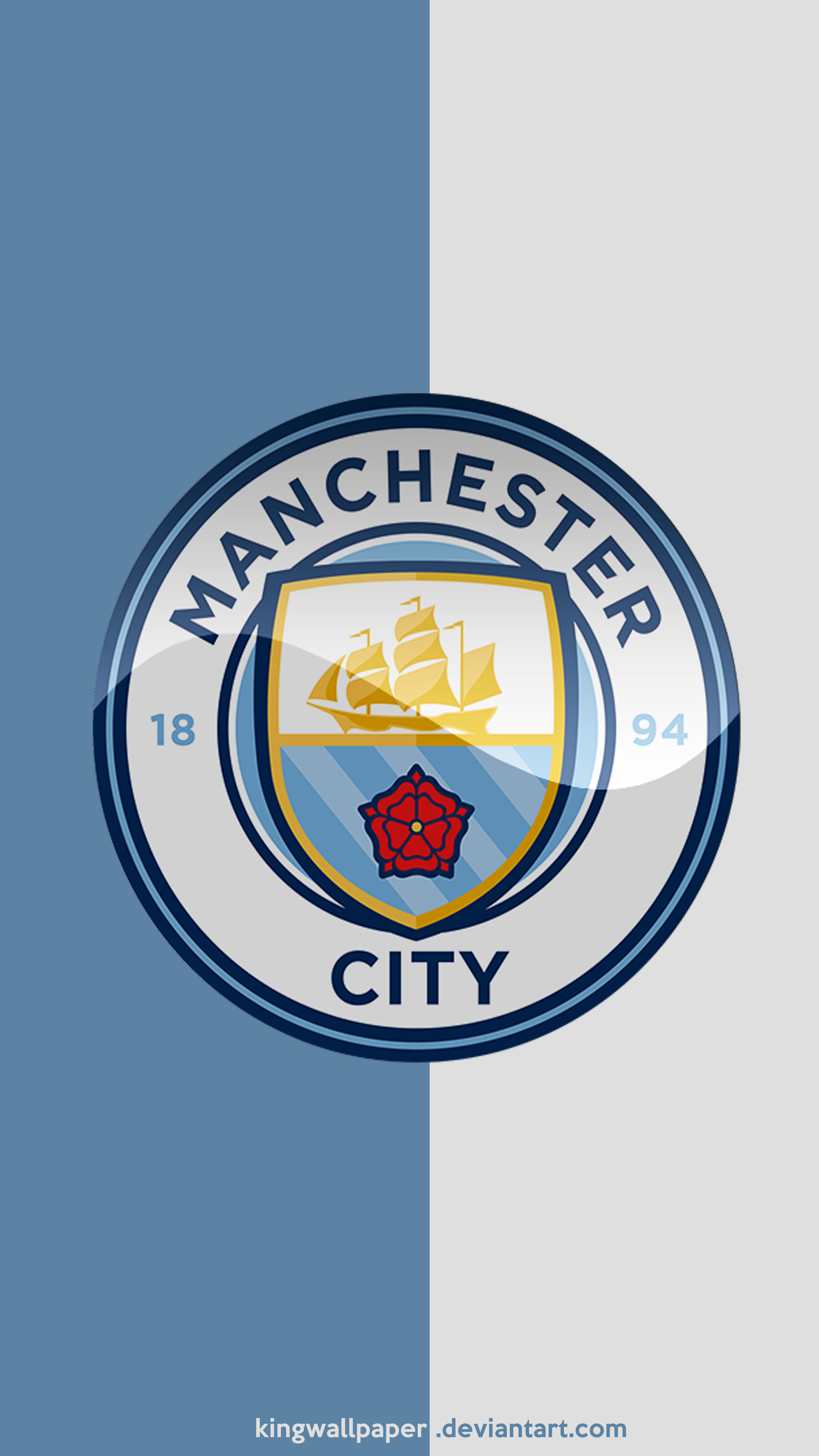 Manchester City moblie background by Kingwallpaper on 4500x8000