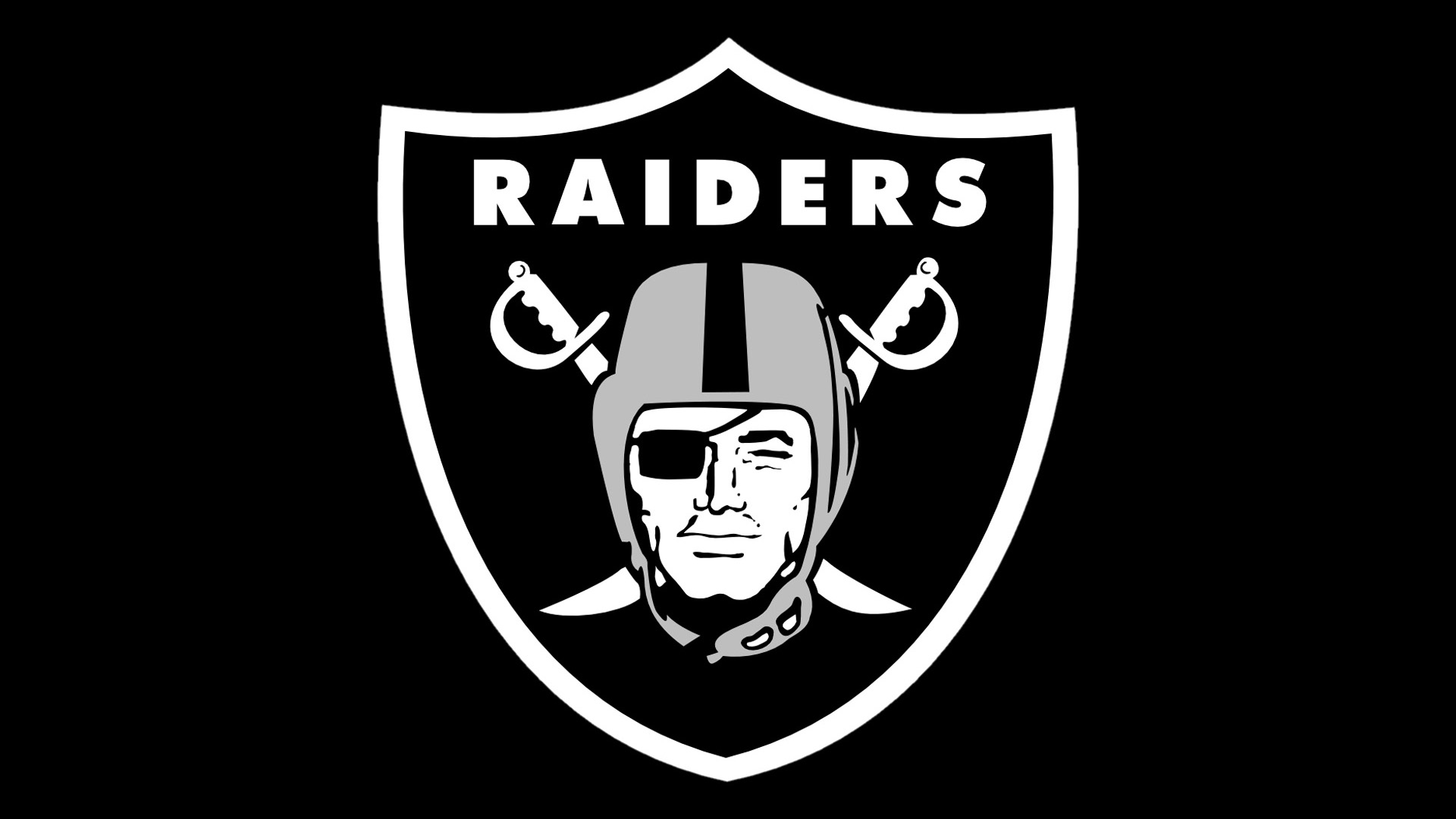 logos wallpapers pixels black oakland raiders 1920x1080 1920x1080