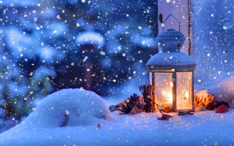 winter macro light snowflakes desktop wallpaper Holidays 2880x1800