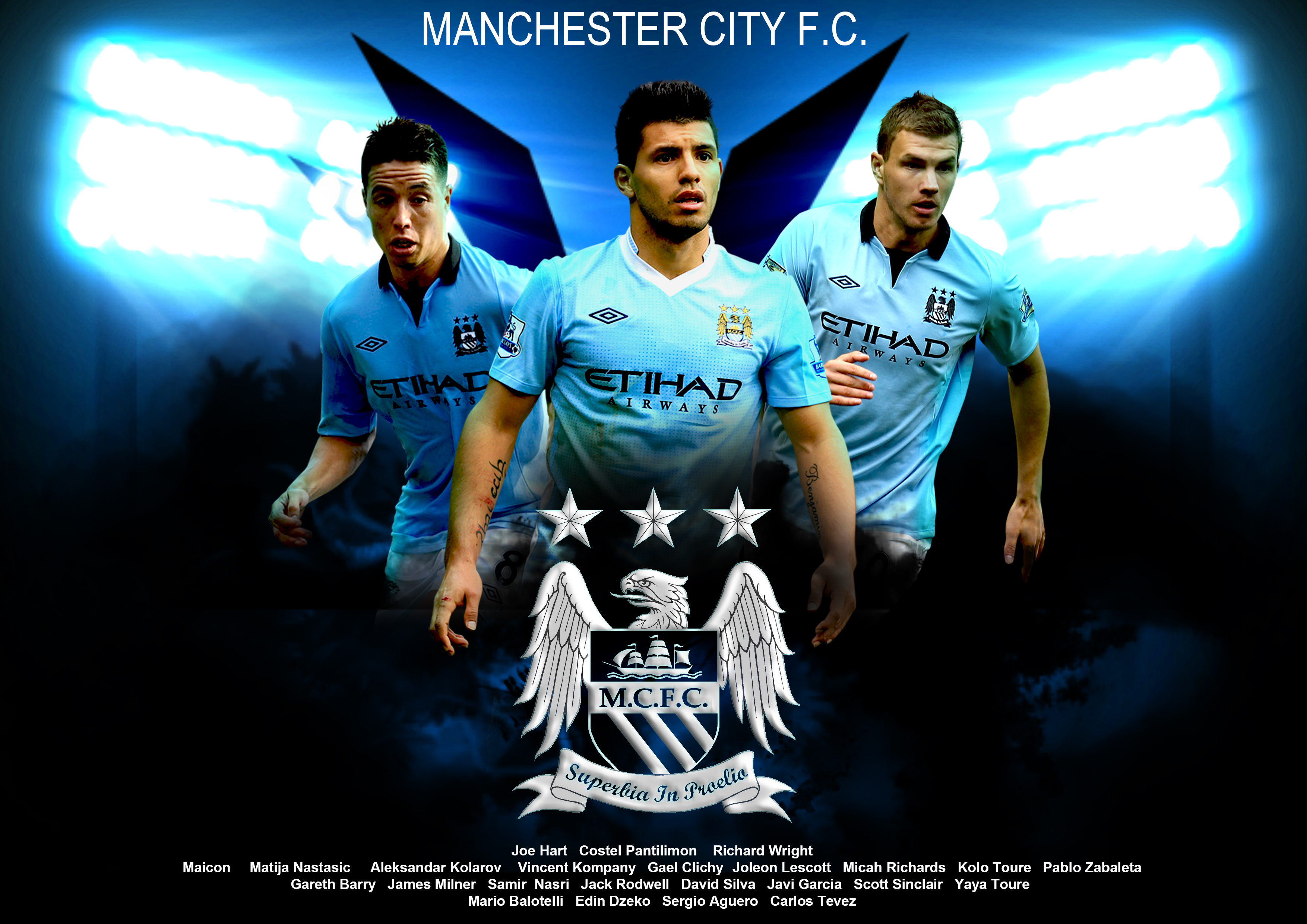 Manchester City HD wallpaper Manchester City wallpapers 3508x2480