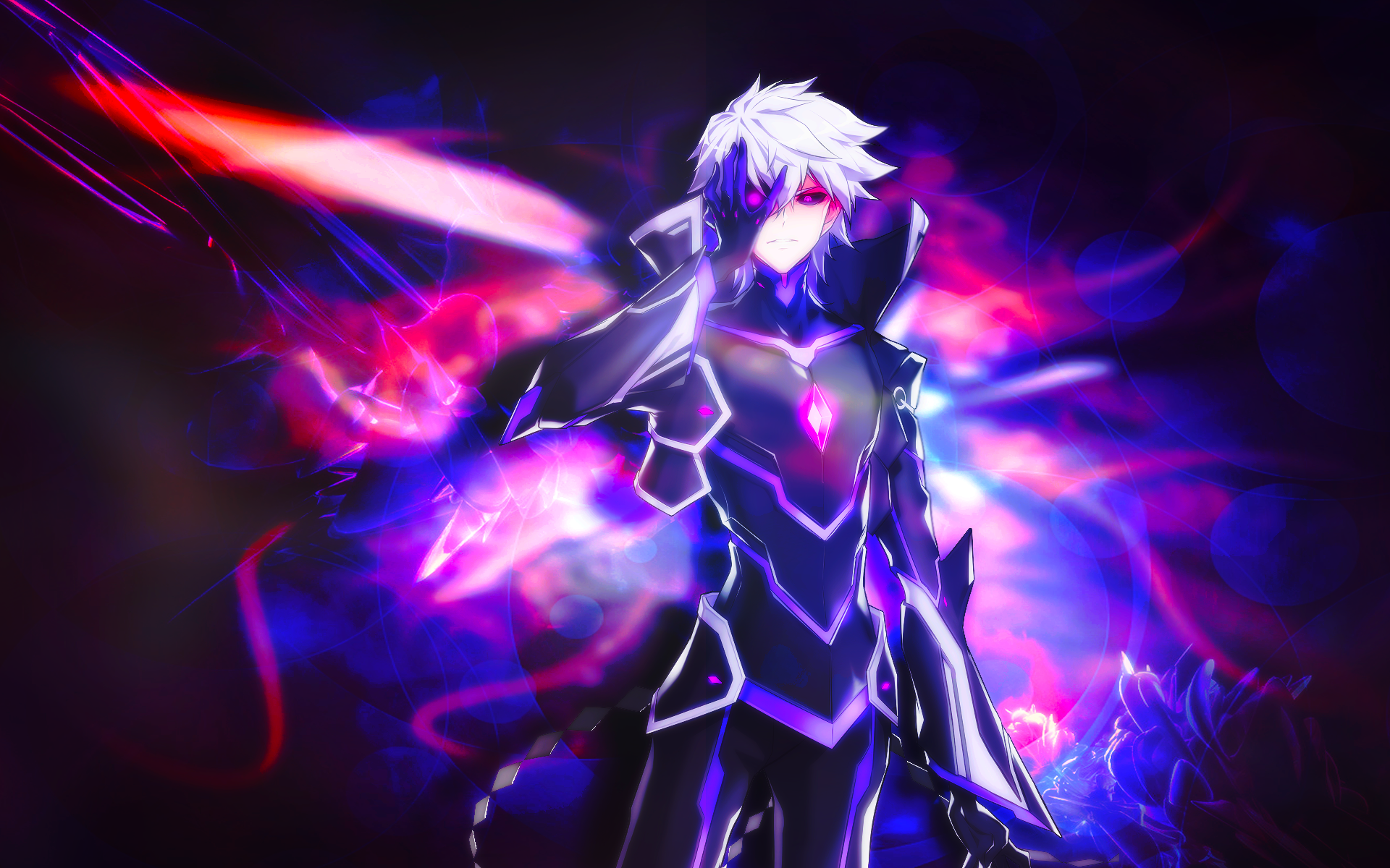 Elsword add wallpaper wallpapersafari for Deviantart wallpaper