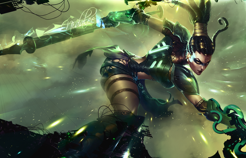 Nidalee Wallpaper by Freyfie 1024x658