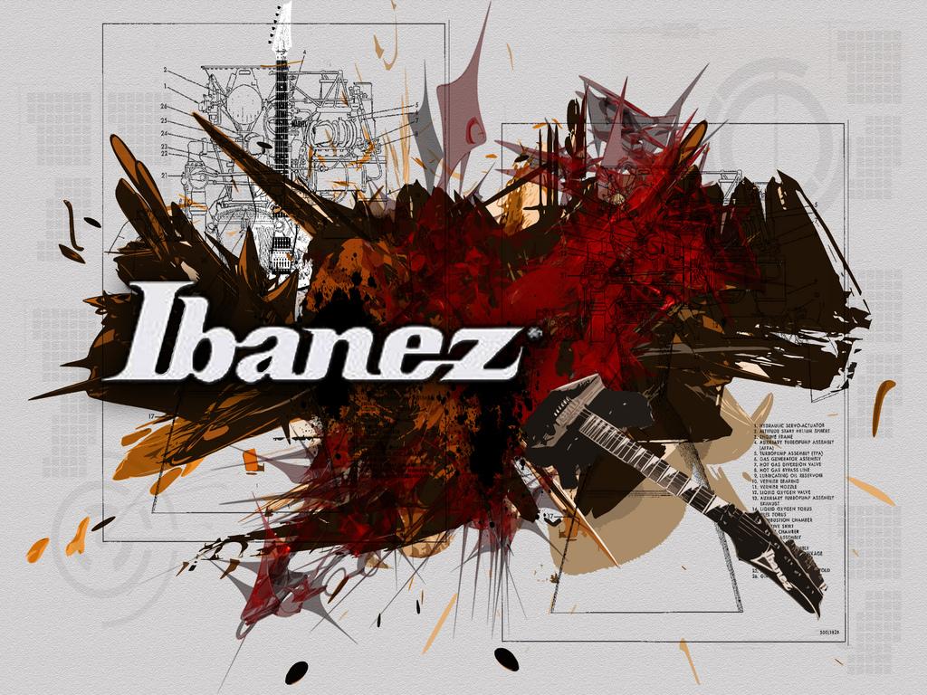 Ibanez Wallpaper Desktop Wallpapersafari Electric Guitar Plan Diagram Drawing Wallpapers Music For Logo Campaign 1024x768