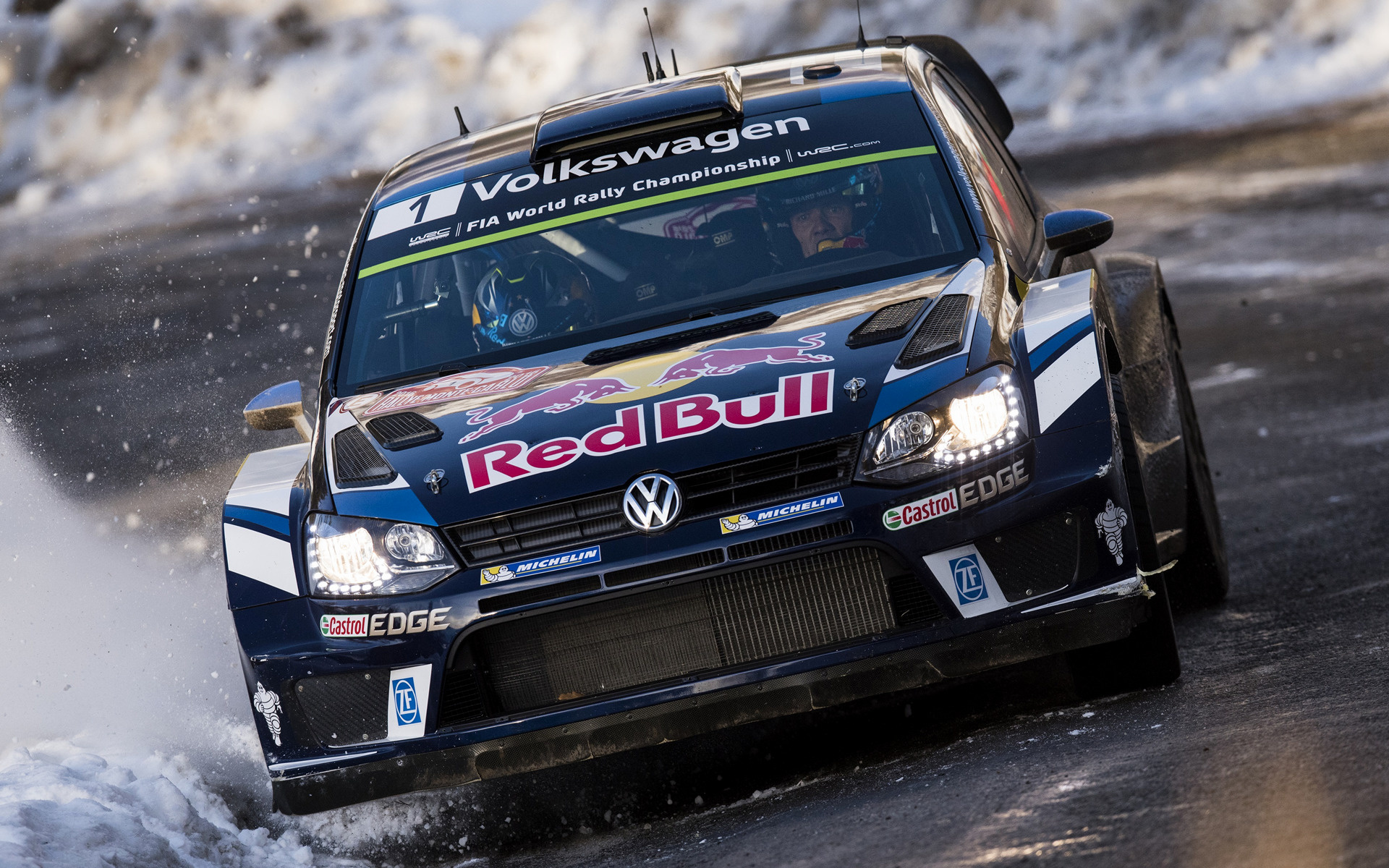2016 Volkswagen Polo R WRC   Wallpapers and HD Images Car Pixel 1920x1200