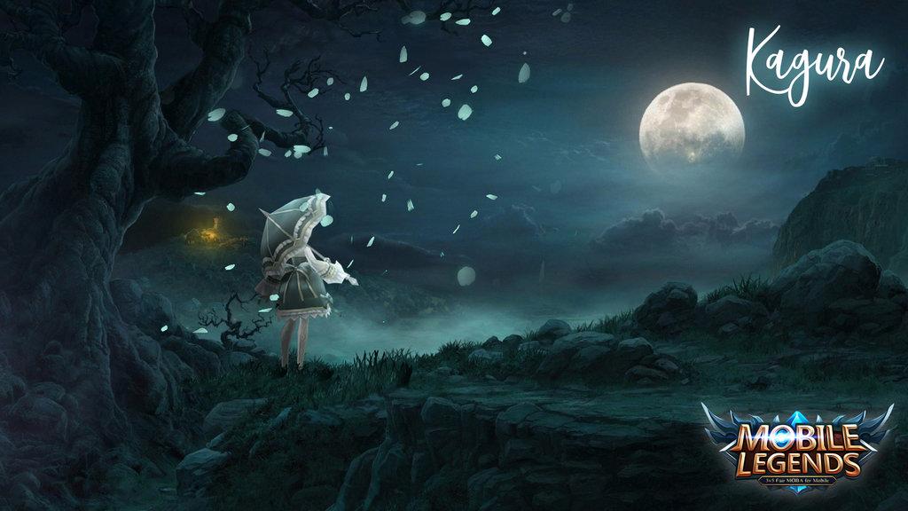 Kagura Mobile Legends desktop Wallpaper by eddydsn on 1024x576