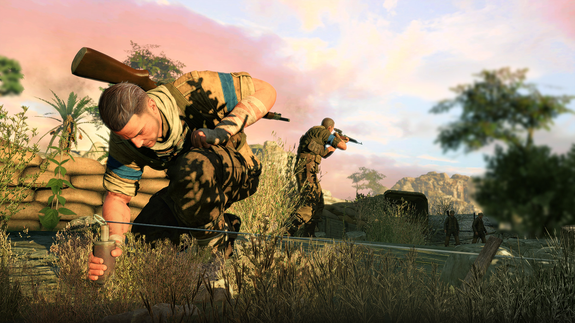Sniper Elite Wallpaper 2706 1920 x 1080   WallpaperLayercom 1920x1080