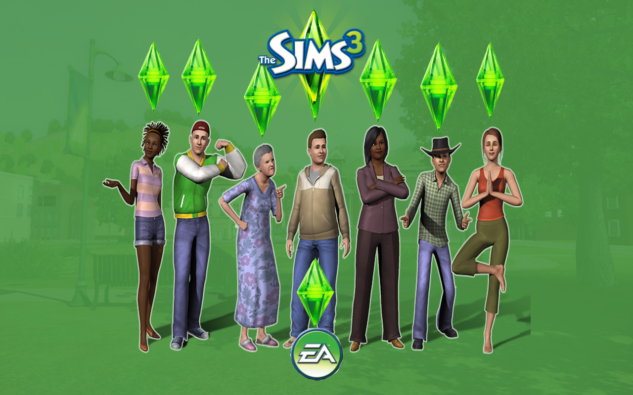 Sims 3 wallpaper   The Sims 3 Wallpaper 6549714 1280x800