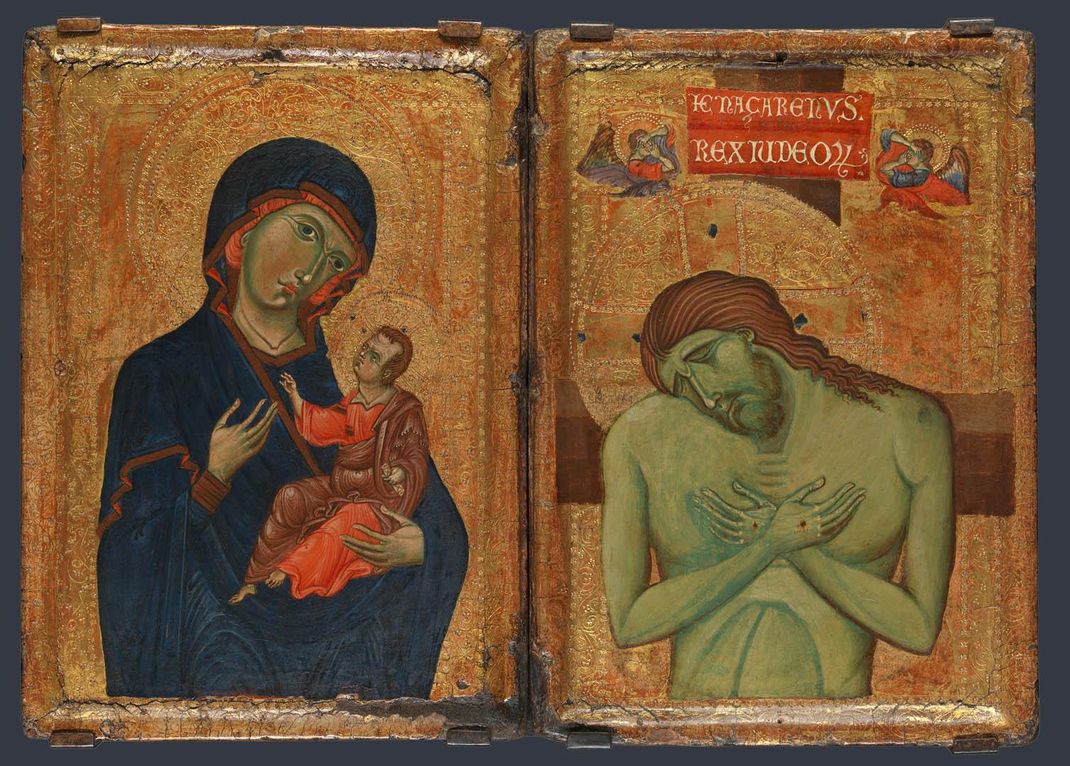 Umbrian Diptych   A italian renaissance umbrian art wallpaper picture 1508x1080