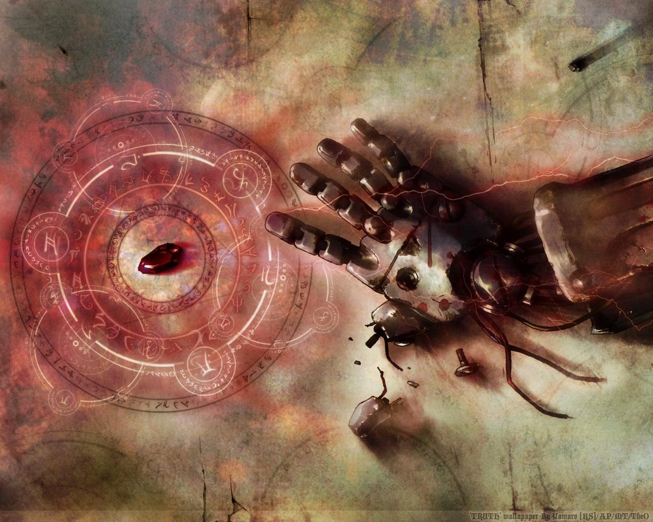 wp contentuploadswallpapersTRUTH Fullmetal Alchemist wallpaperjpg 1280x1024