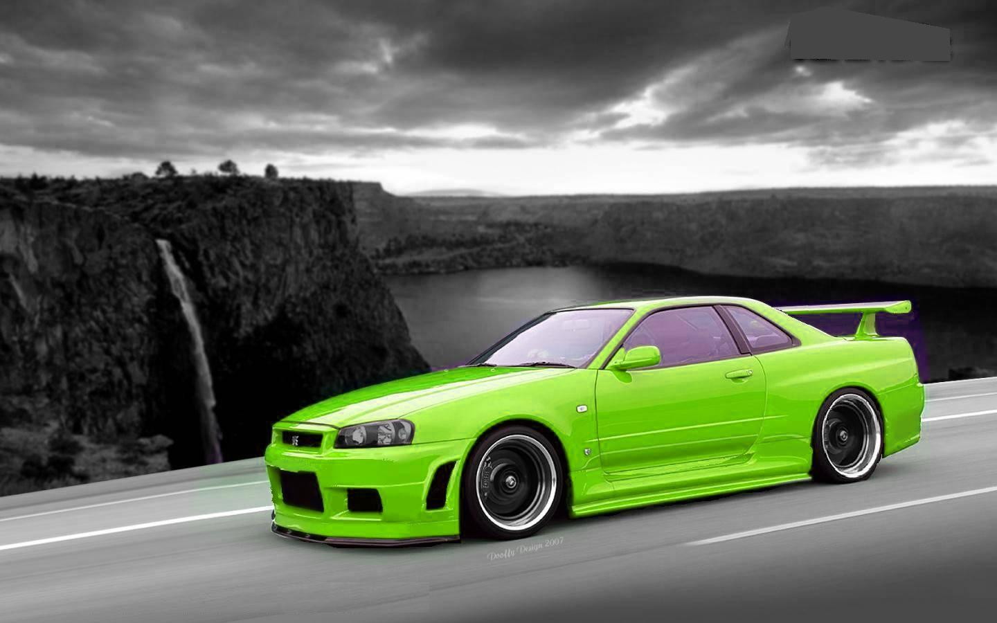 Free Download Nissan Skyline R34 Wallpapers 1440x900 For Your
