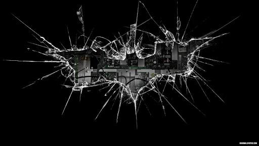 broken glass wallpaper for mobile phone broken glass Car Pictures 512x288