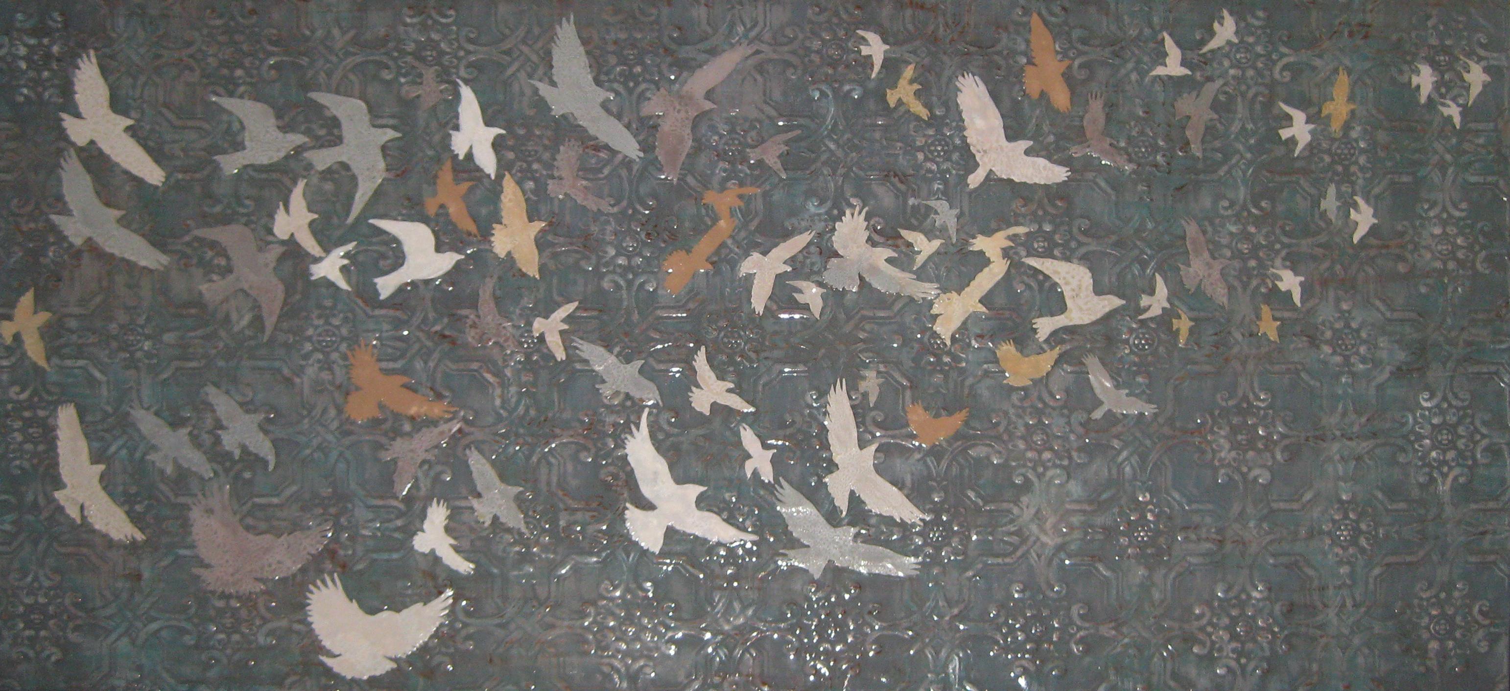 Bird Pattern Wide Wallpaper in High Resolution at Patterns Wallpaper 3084x1412