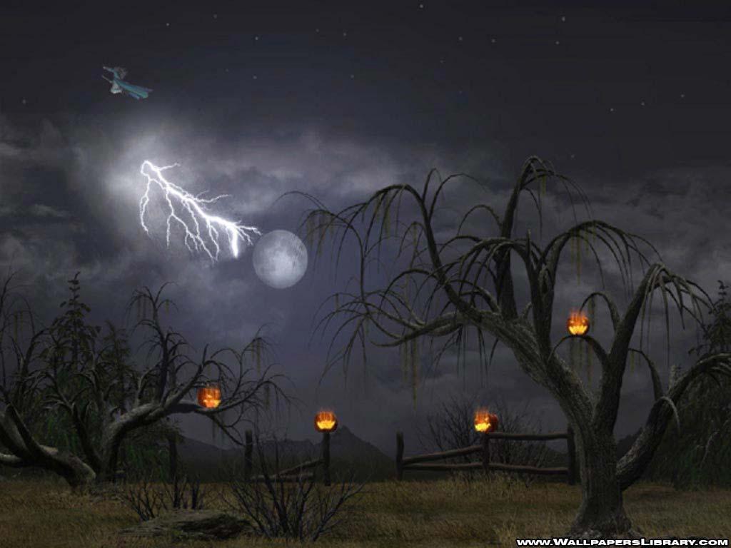 Download Halloween Wallpapers 2011 Video 1024x768