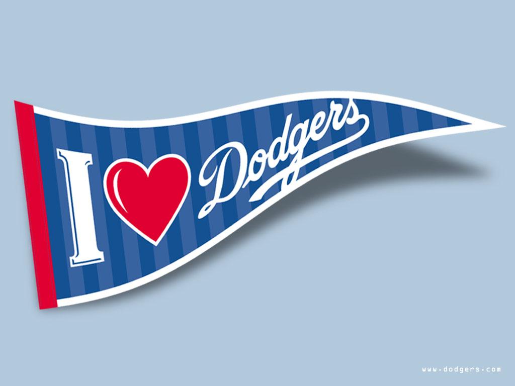 desktop wallpaper flag baseball los angeles dodgers copyright by la 1024x768