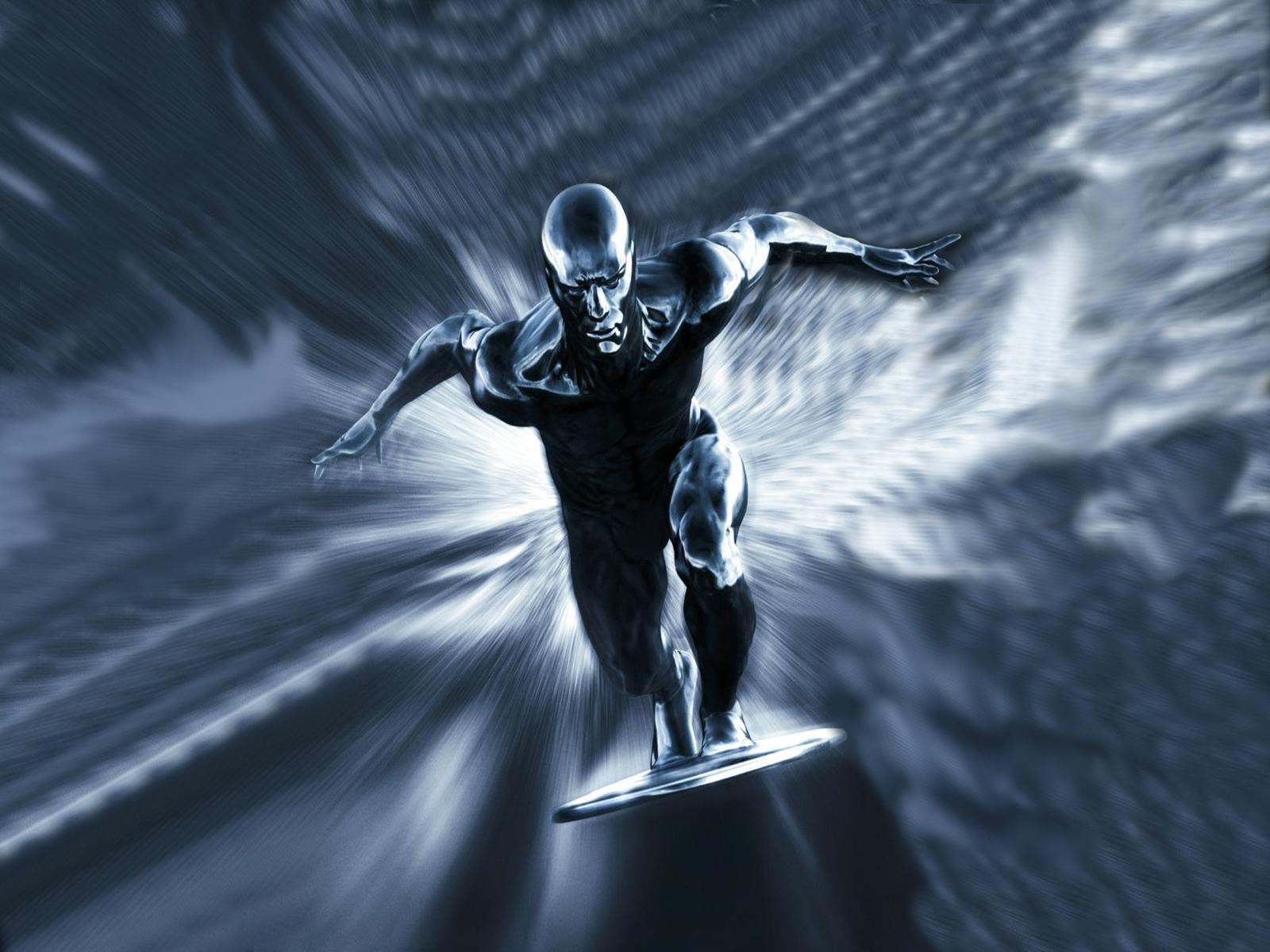 Silver Hd Wallpaper: Silver Surfer Wallpaper HD