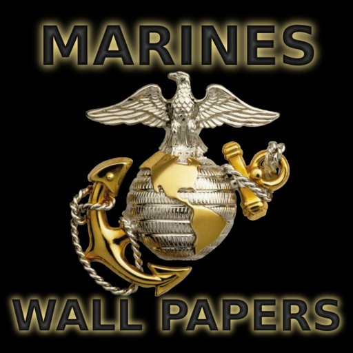 USMC Wallpaper iPhone Photo Video apps by Bluewater Publishing 512x512