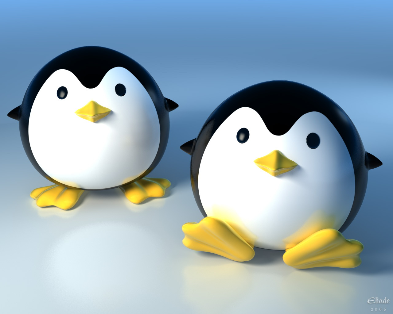 Cute 3D Penguins Wallpapers   HD Wallpapers 293 1280x1024
