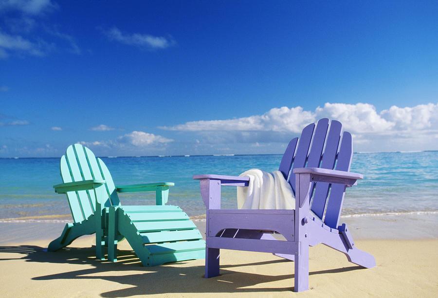 45 Beach Chairs Wallpaper On Wallpapersafari