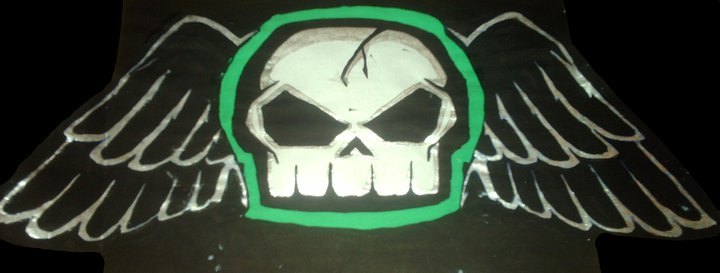 No Fear Skull Wallpaper No fear skull by dark angel 720x273
