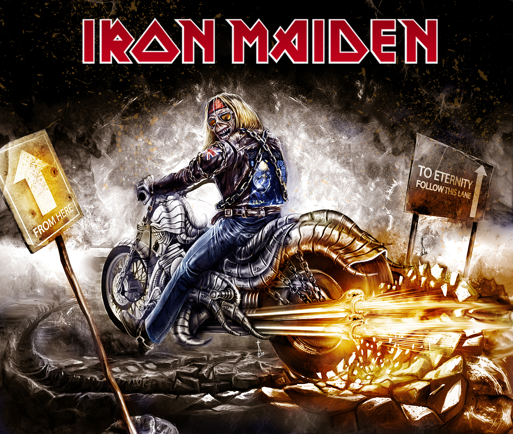 Skulls images iron maiden HD wallpaper and background photos 36389945 1772x1500